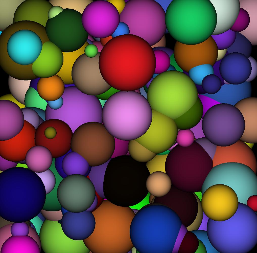 Random spheres!